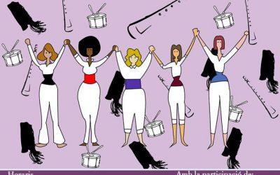 Actuació amb motiu del Dia Internacional de la Dona