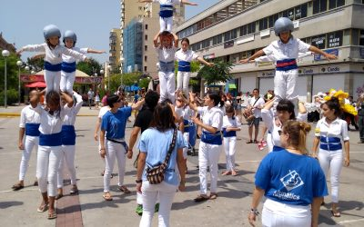 Actuació de la canalla a la Festa Major del Centre Vila