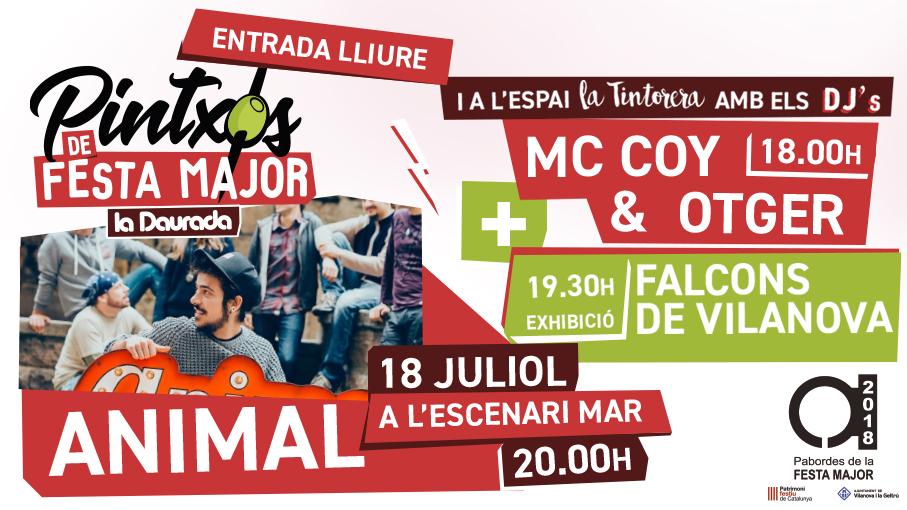 """Actuació """"Pintxos de la Festa Major"""" a la Daurada"""